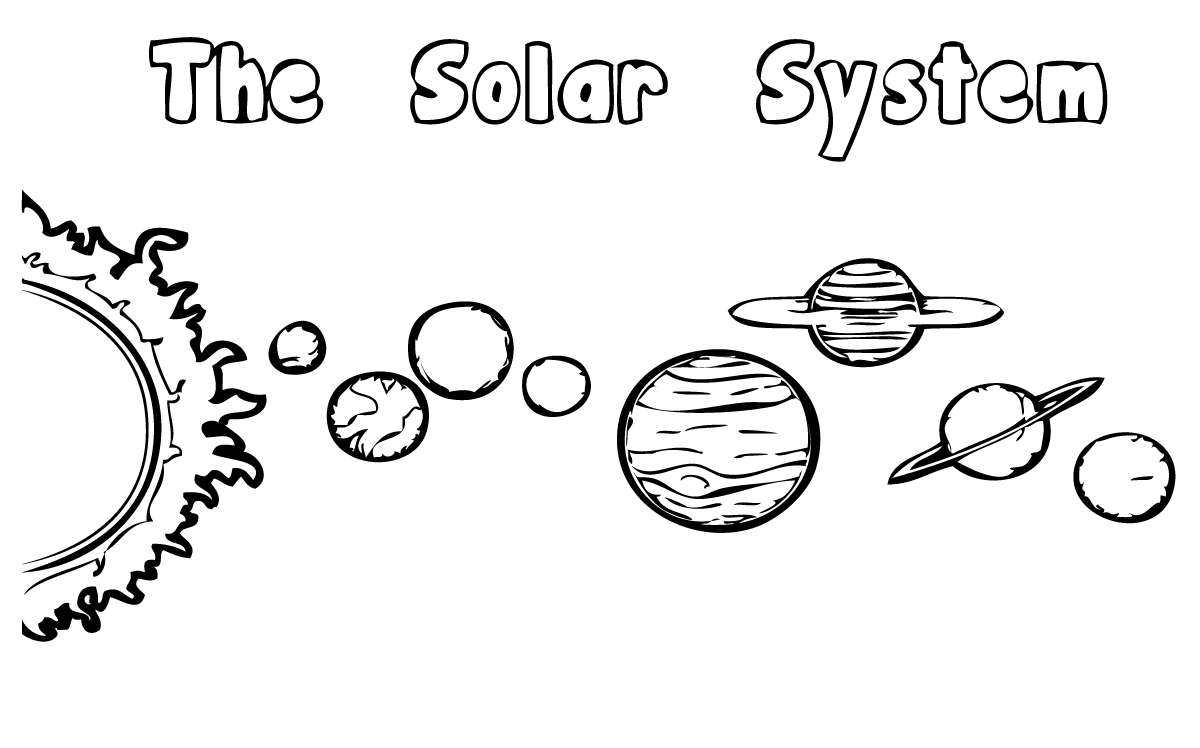 kids coloring pages solar-system,printable,coloring pages