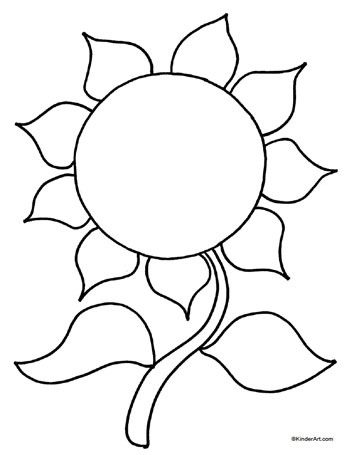 sunflower coloring page,printable,coloring pages
