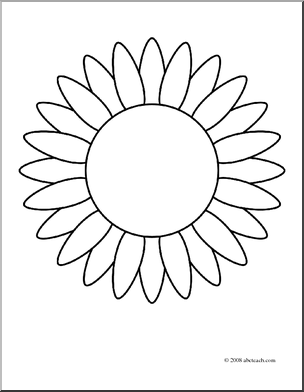 sunflower coloring pages craft - photo#31