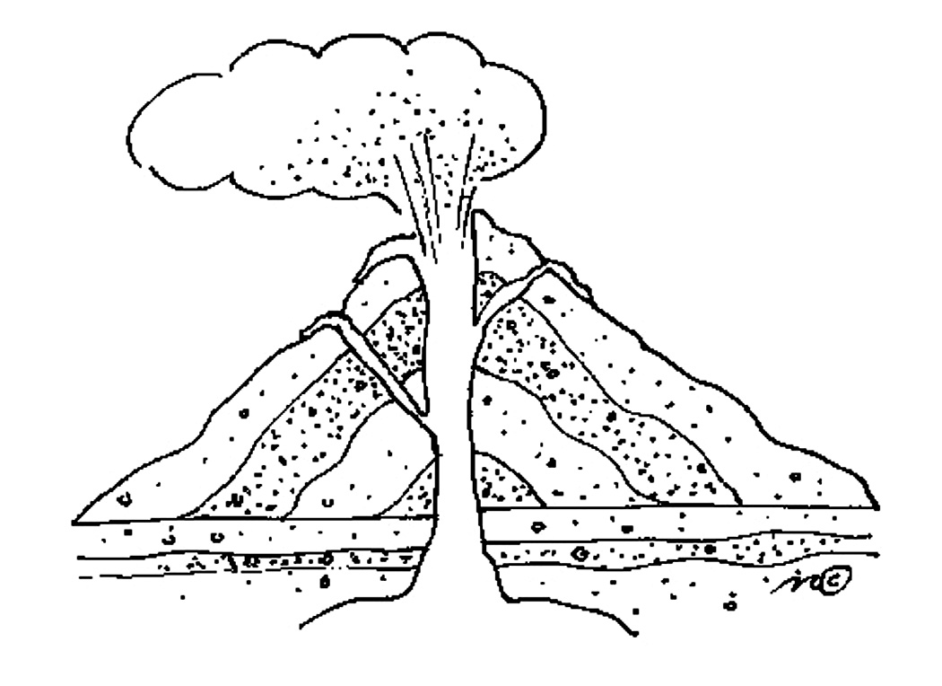 volcano coloring pages 12,printable,coloring pages
