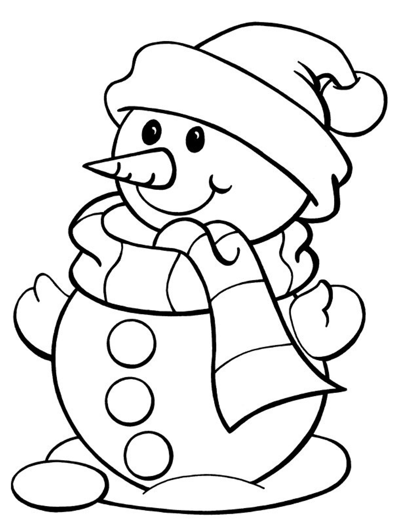 23 winter season coloring pages print color craft for Pictures of christmas coloring pages