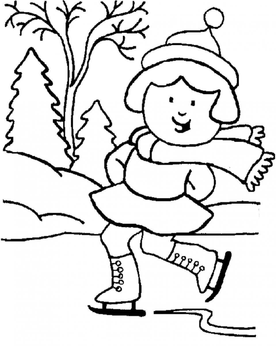 winter coloring pages coloring pages