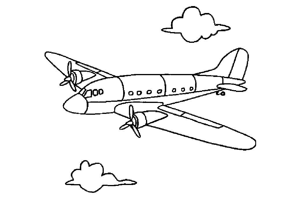 coloring pictures airplane,printable,coloring pages