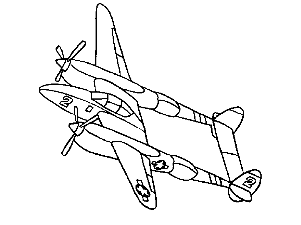 13 airplane coloring pages for kids print color craft for Airplane coloring page printable