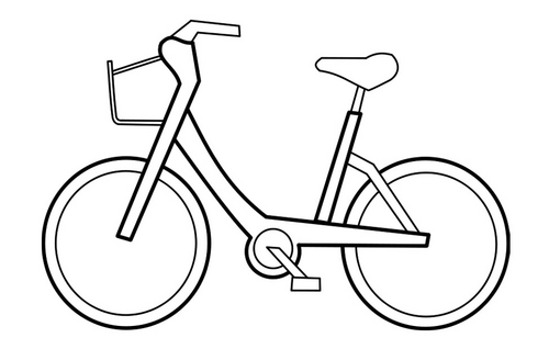 bicycle coloring pages 13,printable,coloring pages