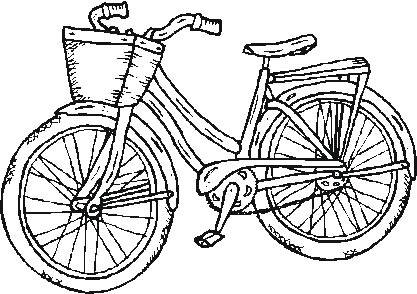 bicycle coloring pages printable,printable,coloring pages