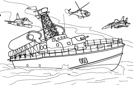 Boat, sailing ship coloring pages for kids (transportation ... | 296x465
