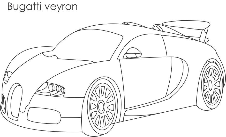 bugatti coloring page to print,printable,coloring pages