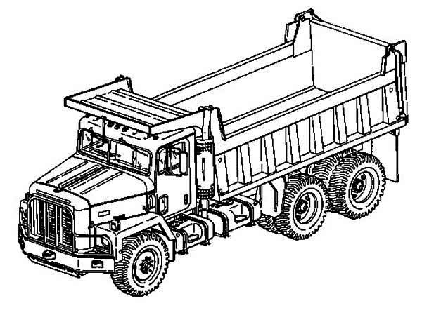 dump-truck coloring page to print,printable,coloring pages