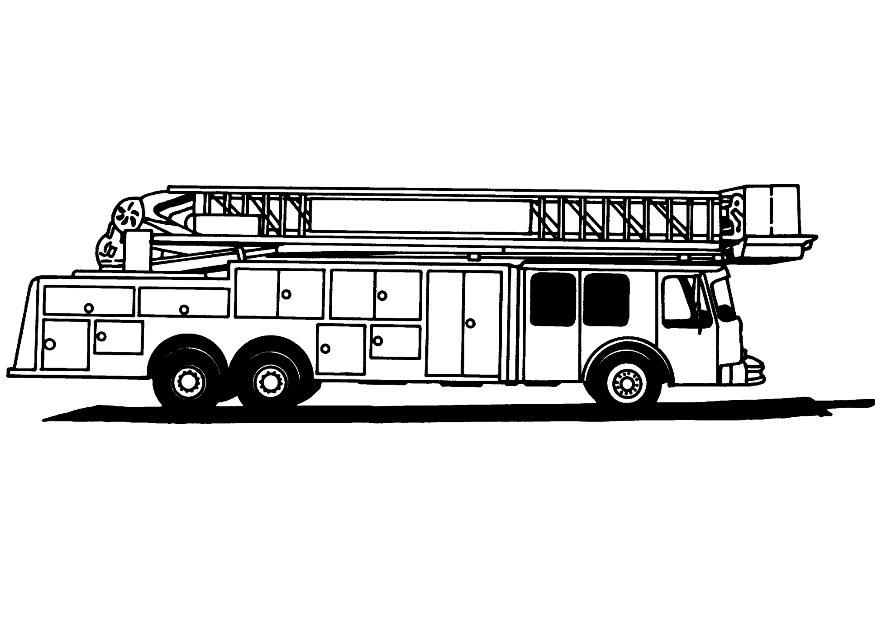 coloring pictures fire-truck,printable,coloring pages