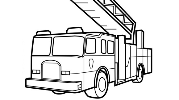 printable pictures of fire-truck page,printable,coloring pages