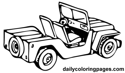 jeep coloring page to print,printable,coloring pages