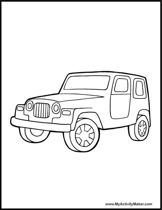 jeep coloring pages 11,printable,coloring pages