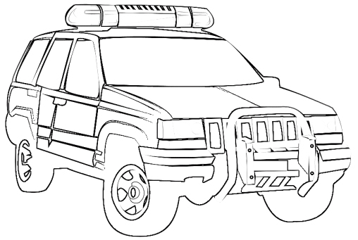 14 jeep coloring page to print Print Color Craft