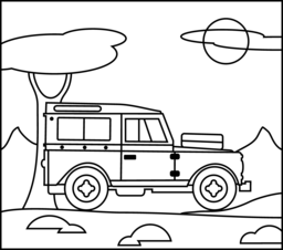 kids coloring pages jeep,printable,coloring pages