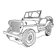 printable pictures of jeep page,printable,coloring pages