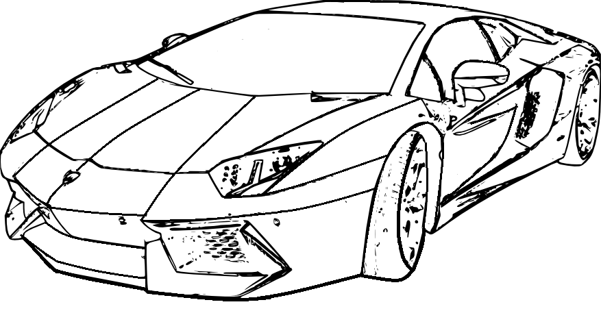 Coloring Pages Of Lamborghiniprintablecoloring