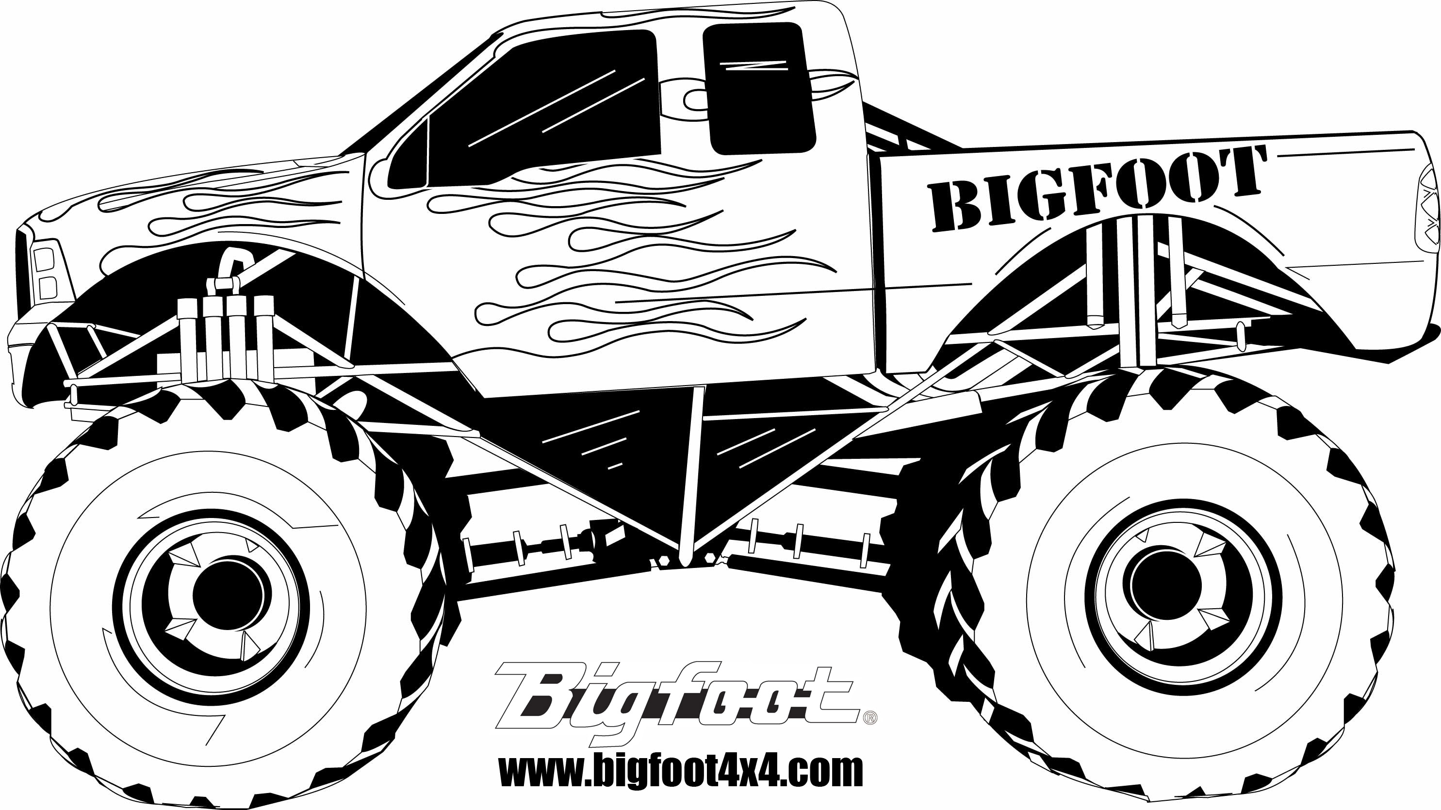 coloring pages of monster-truck,printable,coloring pages