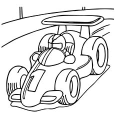 Free Printable Race Car Coloring Pages For Kids | Cars coloring ... | 230x230