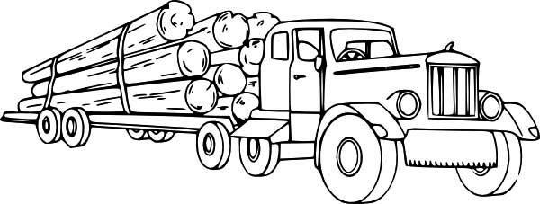 14 printable pictures of semi truck free page - Print ...