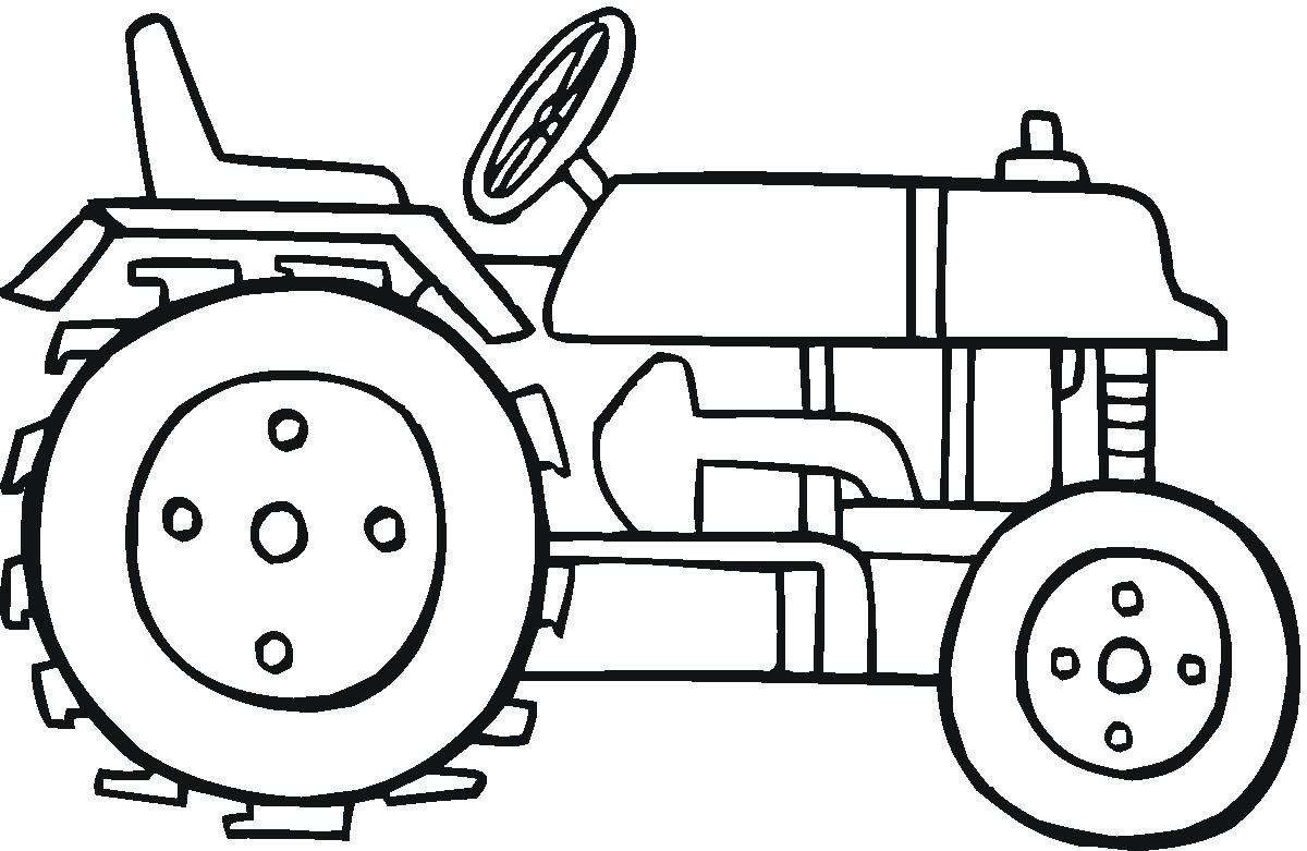 coloring pages of tractor,printable,coloring pages