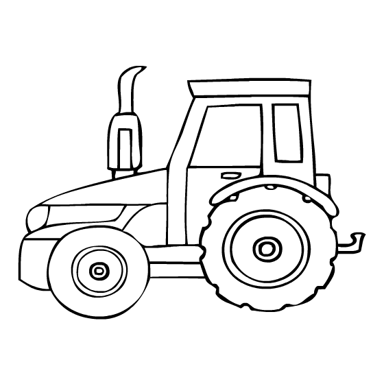 tractor coloring page to print,printable,coloring pages