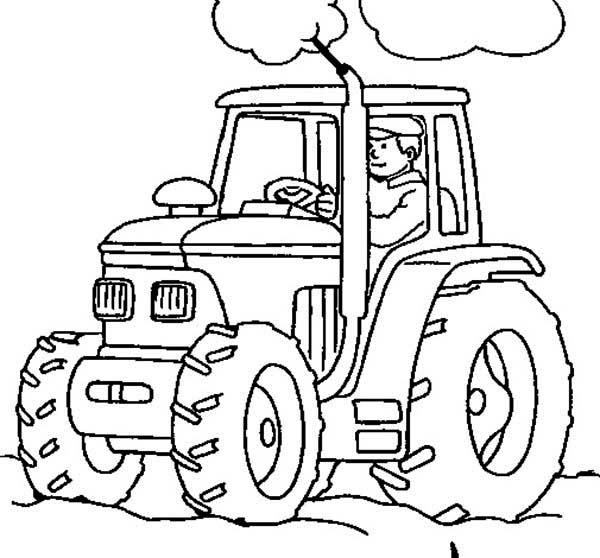 tractor coloring pages,printable,coloring pages