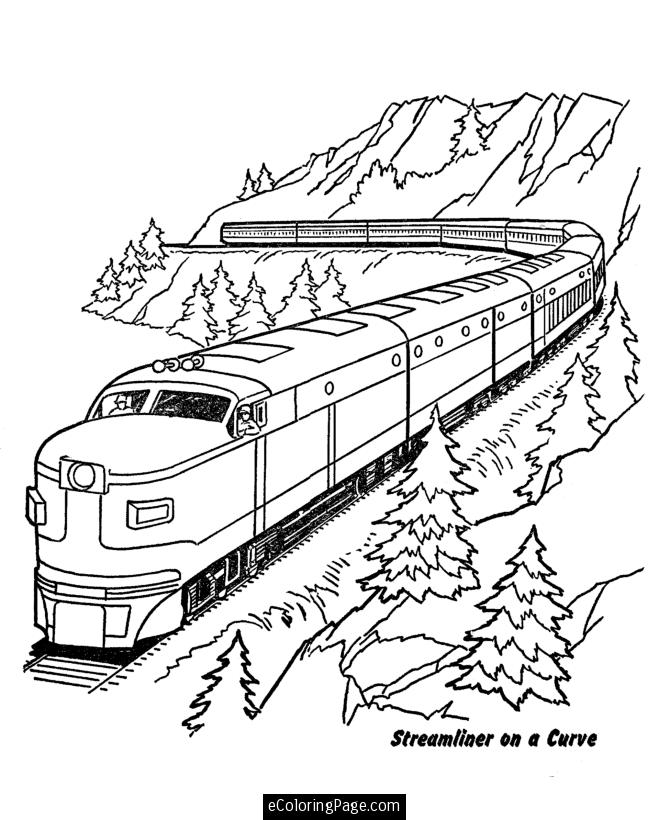 Coloring Pages Train Printable | Coloring Pages