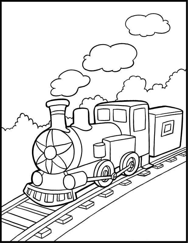train coloring pages 12,printable,coloring pages