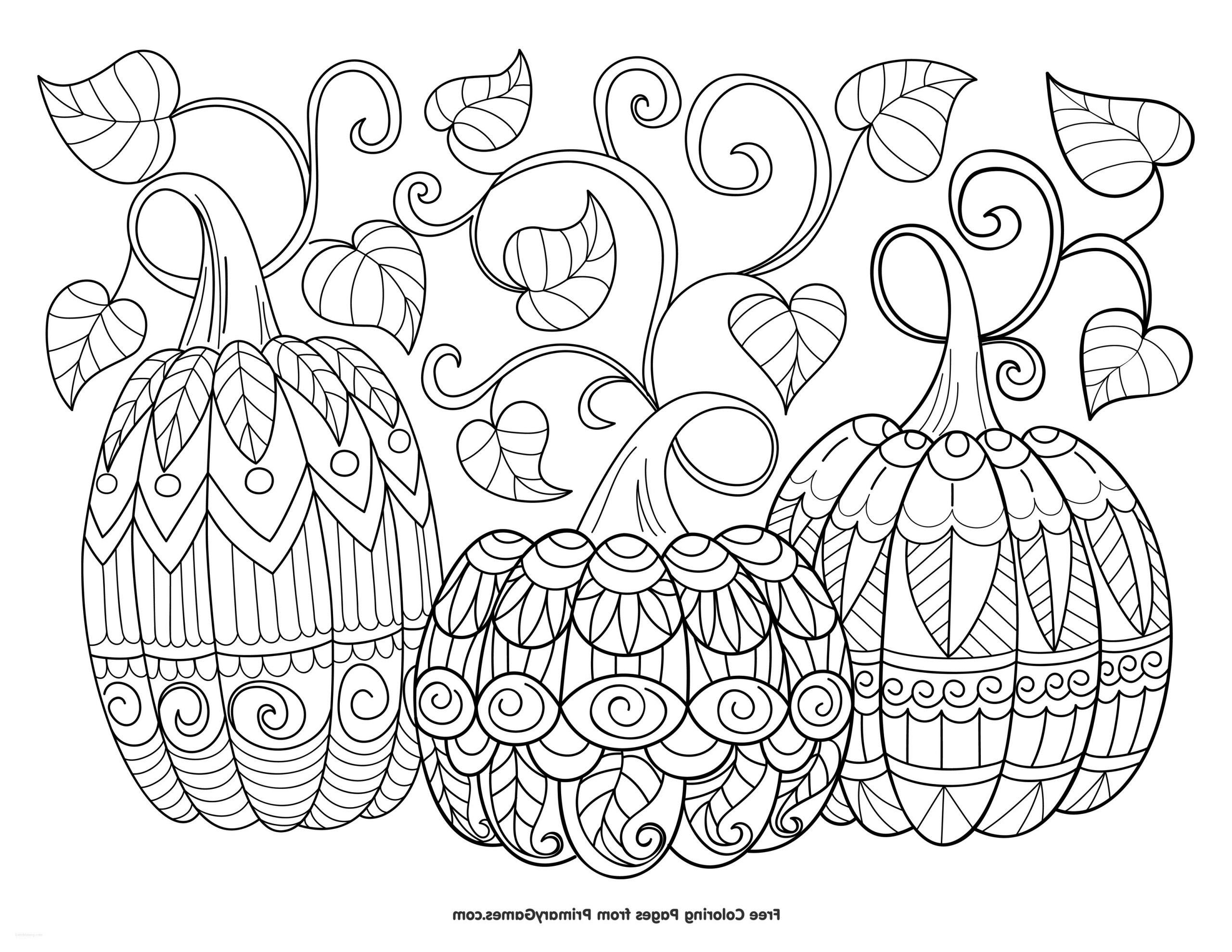 Fall Pumpkin Coloring Pages for Adults Printable Mandala Coloring