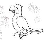 18 Parrot Coloring Pages Pet Birds Printable PDF