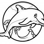 #11 Dolphin Coloring Pages: Printable Animal Pages
