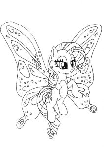 Generosity My Little Pony Rarity Pony Coloring Pages