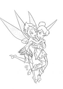 Periwinkle Tinkerbell Frost Talent Fairy Secret of Wings Periwinkle Coloring Pages
