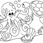 18 Printable Ocean Animals Coloring Pages PDF