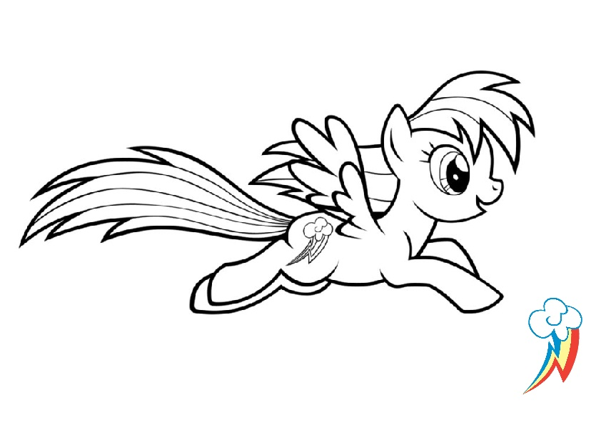 Mlp Coloring Pages Free Printable My Little Pony Coloring Pages ... | 595x842