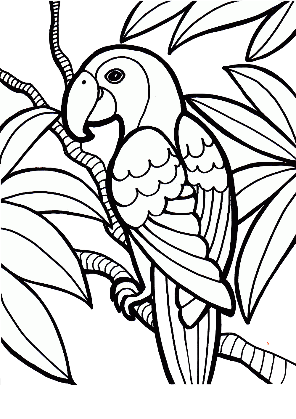 Bird Coloring Pages Printable in 2020 | Bird coloring pages, Bird ... | 1415x1000