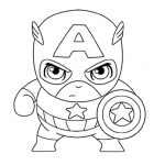 18 Printable Captain America Coloring Pages -Marvel Superheroes