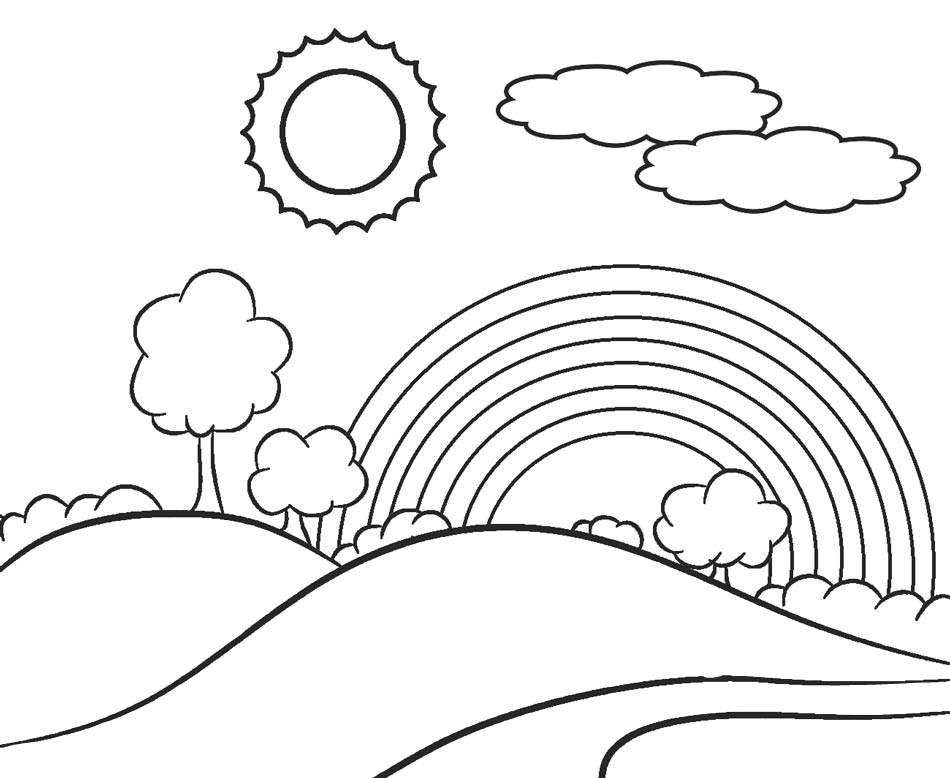 Rainbow Coloring Pages Gallery - Whitesbelfast | 778x950