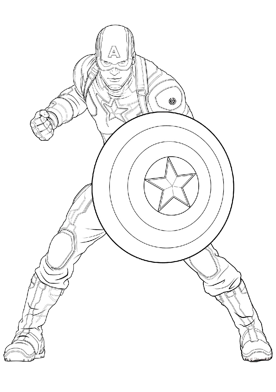 67 Captain America coloring pages | Coloring Pages | 1290x910