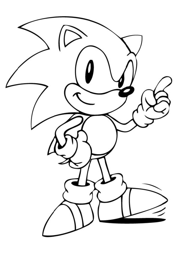 25 Sonic Coloring Pages Sonic The Hedgehog Pdfs Print Color Craft