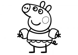 Cute Looking Peppa Pig Coloring Pages Adventures of Peppa Pig and Family