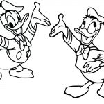 15 Donald Duck Coloring Pages -Walt Disney Printable Pages