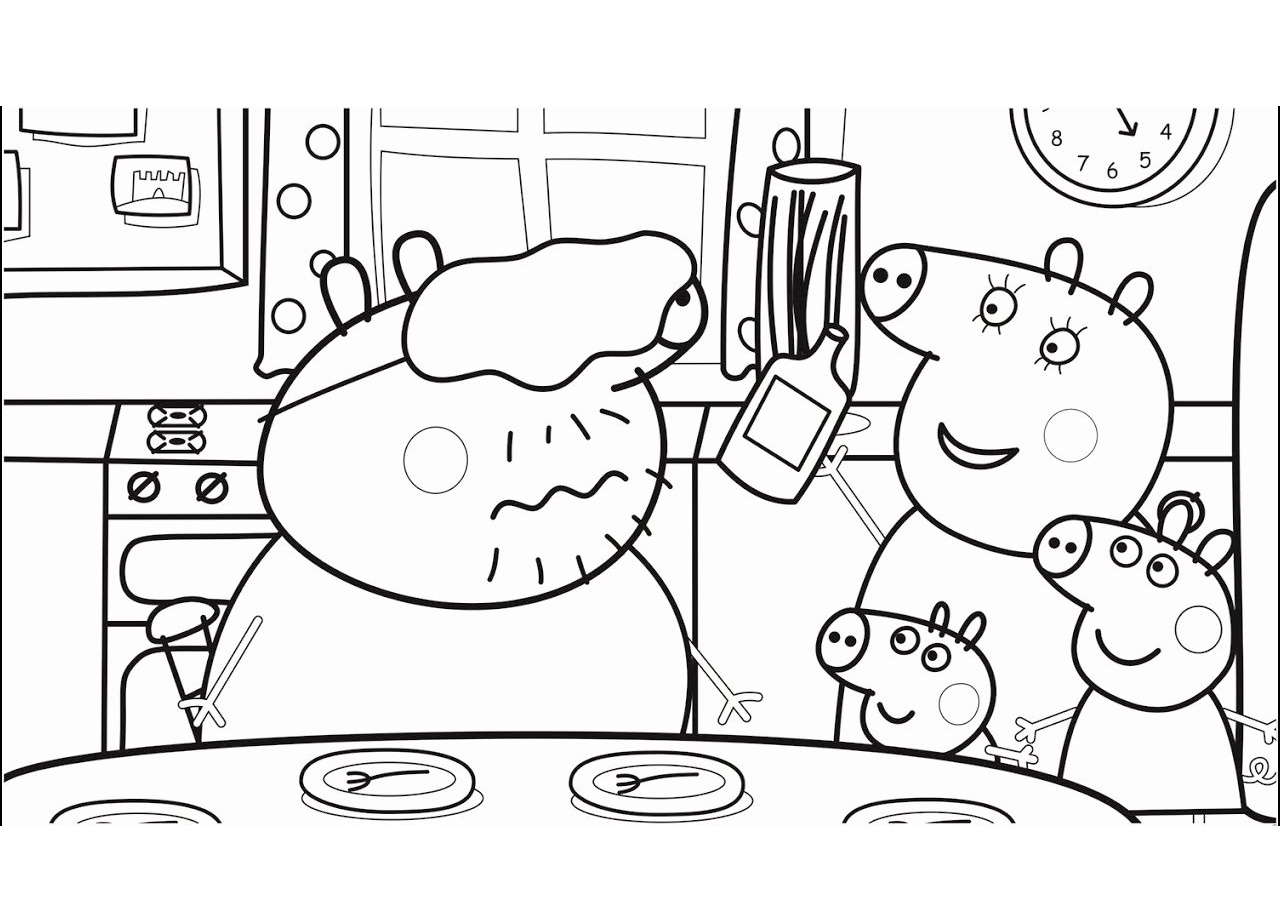 Family Coloring Pages - GetColoringPages.com | 905x1280