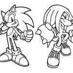 21 Printable Sonic The Hedgehog Coloring Pages