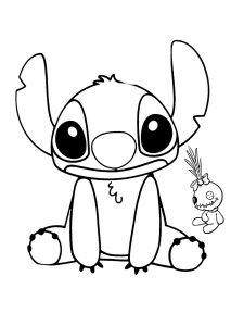 Lilo and Stitch Lilo Walt Disney Coloring Pages