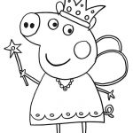 27 Peppa Pig Coloring Pages to Print and Color
