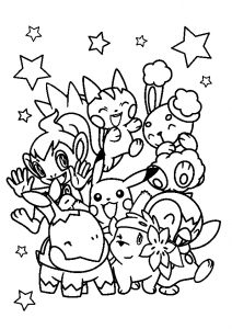 All Cute Pokemon Coloring Pages