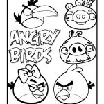 14 Angry Bird Coloring Pages - Rovio Angry Birds Coloring Sheets