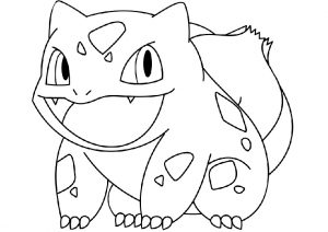 Bulbasaur Grass Pokemon Coloring Pages